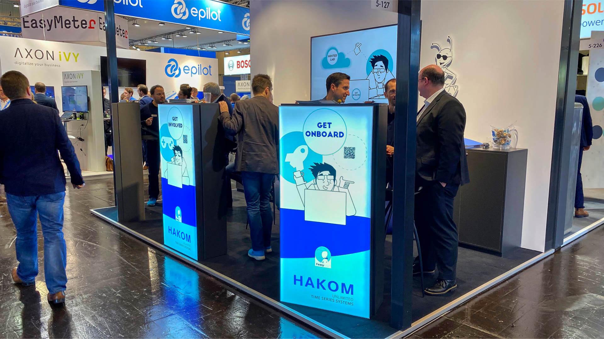 Pictures HAKOM E World 2020 Essen Deutschland.