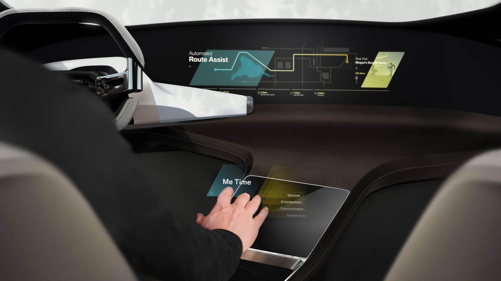 Gestensteuerung: BMW HoloActive Touch.