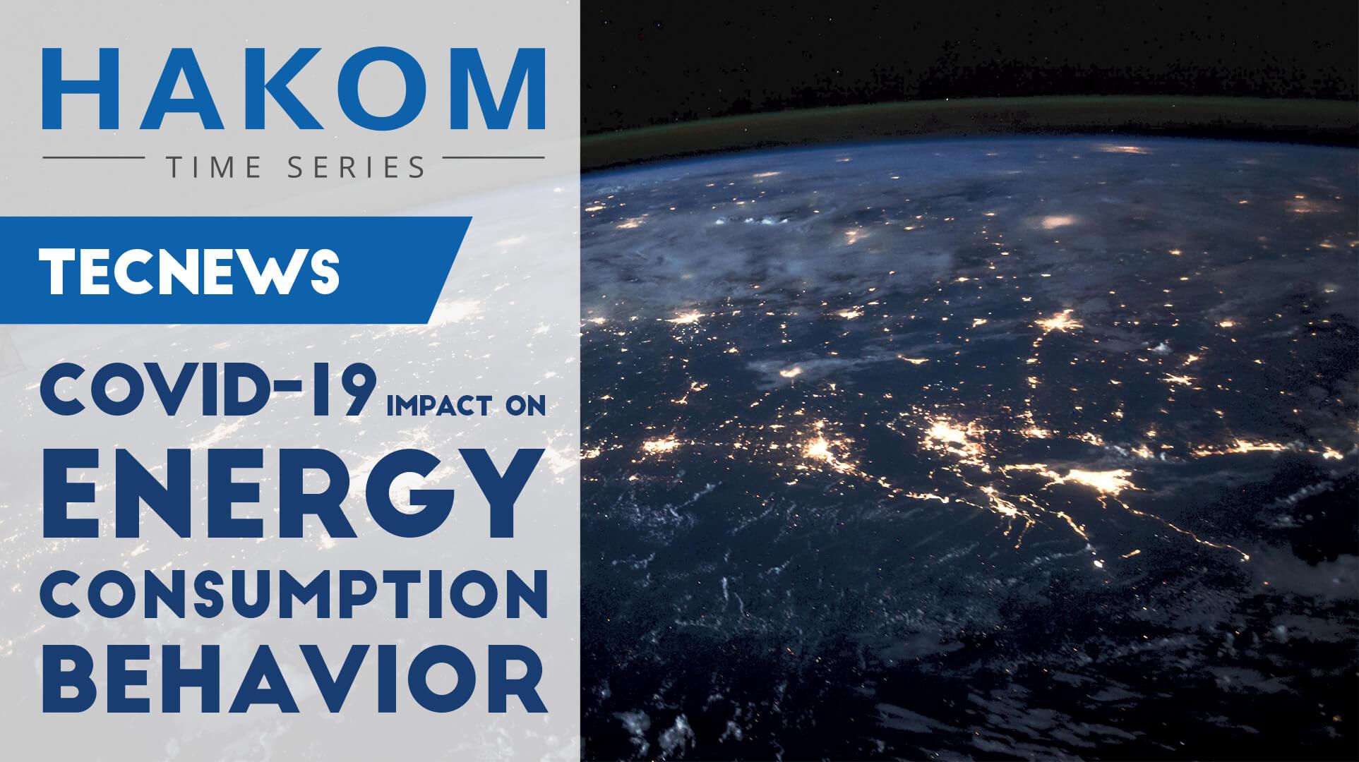 Covid-19 –impact on energy behavior.