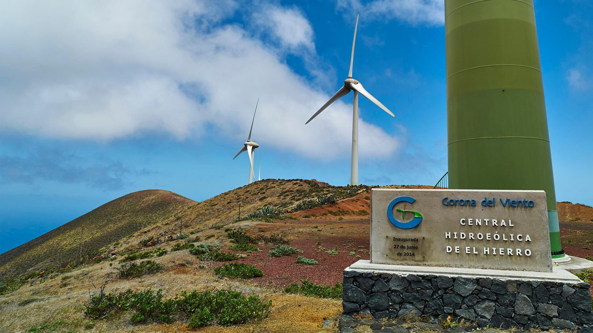 Green Energy Microgrid der Kanaren Insel El Hierro.