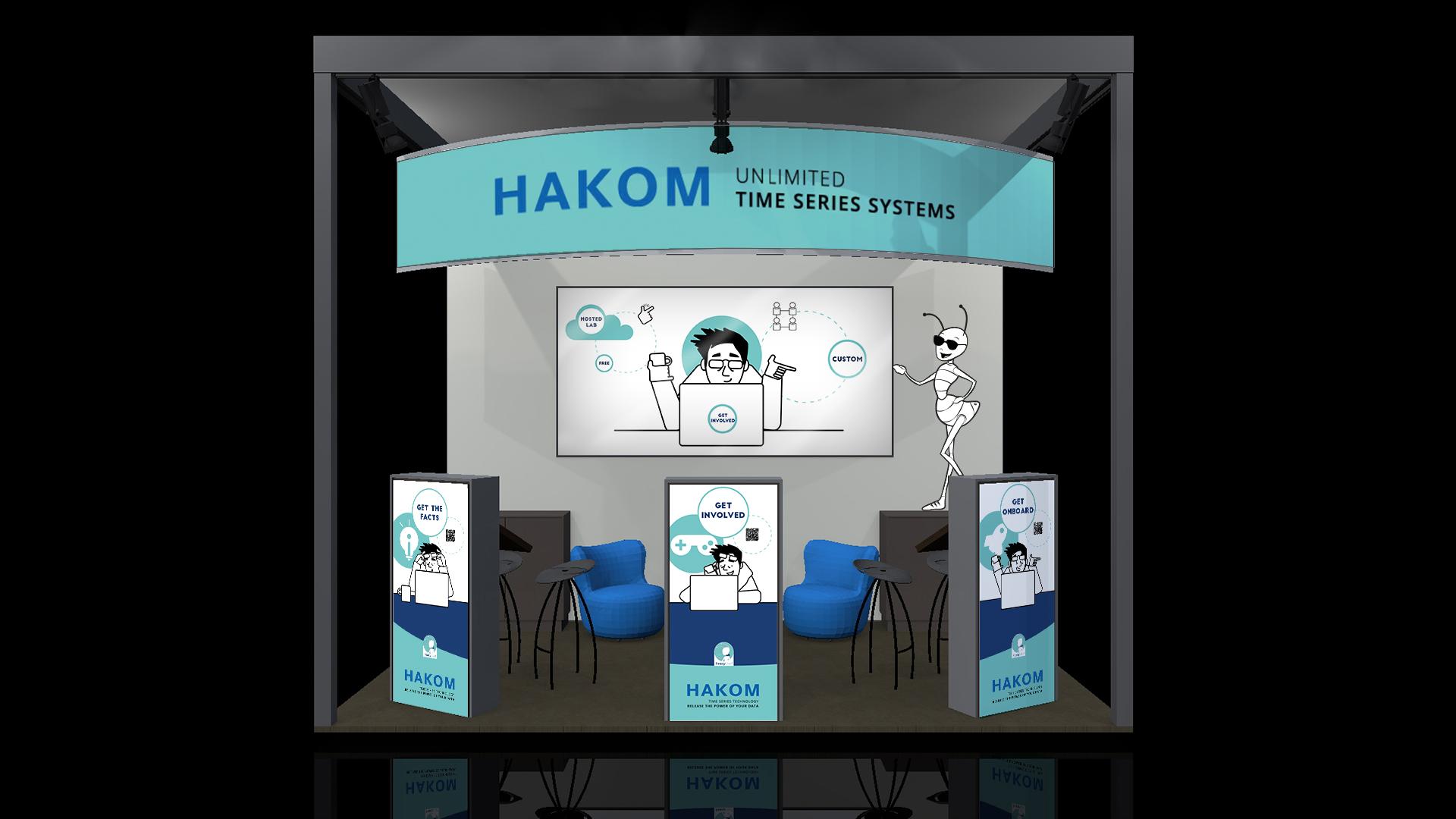 HAKOM auf der E-world in Essen 2020.